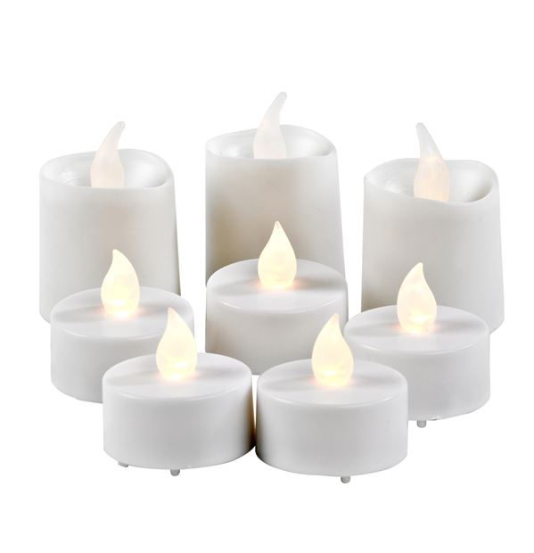 candle set bougies led 1 led produits feelgood pour la maison et le jardin chez casa. Black Bedroom Furniture Sets. Home Design Ideas