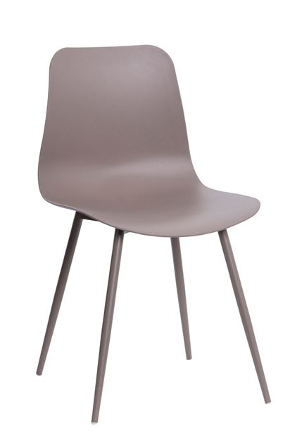 PIERRE Chaise taupe H 80 x Larg. 44 x P 40 cm_pierre-chaise-taupe-h-80-x-larg--44-x-p-40-cm