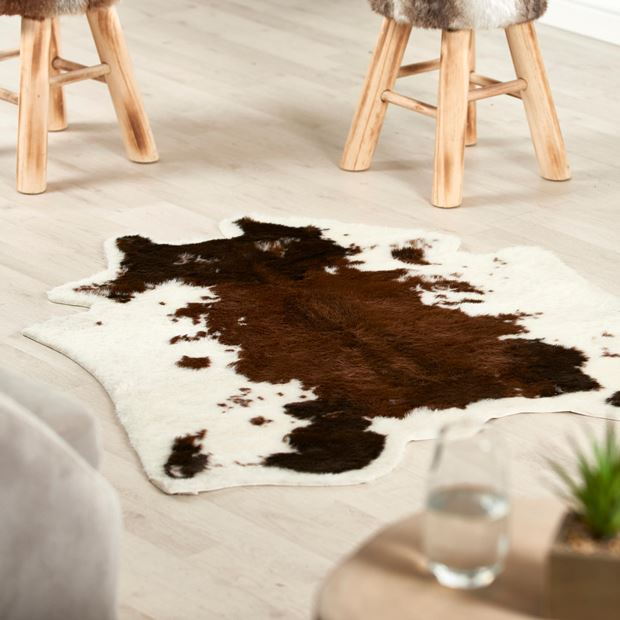 COW Tapis diverses couleurs Larg. 94 x Long. 100 cm_cow-tapis-diverses-couleurs-larg--94-x-long--100-cm