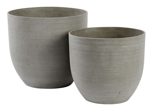 SANDY Pot de jardin naturel H 24 cm; Ø 26 cm_sandy-pot-de-jardin-naturel-h-24-cm;-ø-26-cm