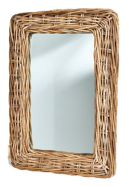 RATTAN Miroir naturel Larg. 45 x Long. 65 cm_rattan-miroir-naturel-larg--45-x-long--65-cm