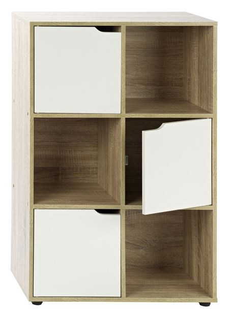 Kubi armoire murale 6 compartiments produits feelgood for Armoire murale bureau
