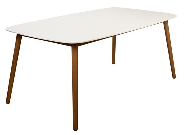 LUGANO Table blanc, naturel H 75 x Larg. 190 x P 105 cm_lugano-table-blanc,-naturel-h-75-x-larg--190-x-p-105-cm