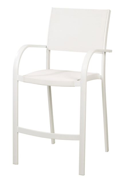 grenada tabouret de bar blanc h 109 x larg 58 x p 60 cm sp cialiste depuis 40 ans d j casa. Black Bedroom Furniture Sets. Home Design Ideas