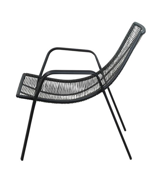 ROPE Sillón lounge negro A 73 x An. 78 x P 76 cm_rope-sillón-lounge-negro-a-73-x-an--78-x-p-76-cm