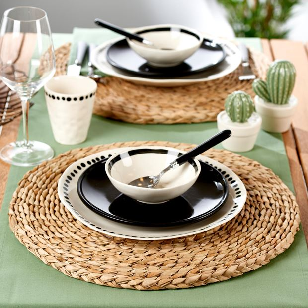 WEAVING Set de table naturel H 1.5 cm; Ø 39.5 cm_weaving-set-de-table-naturel-h-1-5-cm;-ø-39-5-cm