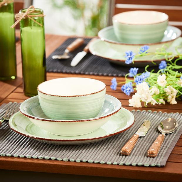 CHAMBRAY Set de table vert Larg. 33 x Long. 45 cm_chambray-set-de-table-vert-larg--33-x-long--45-cm
