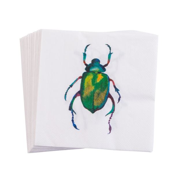 BEETLE Set de 20 serviettes diverses couleurs Larg. 33 x Long. 33 cm_beetle-set-de-20-serviettes-diverses-couleurs-larg--33-x-long--33-cm