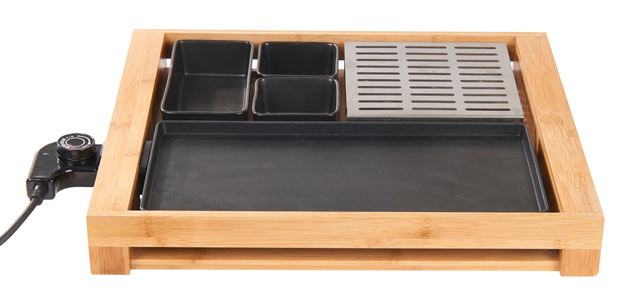COSY GRILL Multigrill negro, natural A 20 x An. 45 cm_cosy-grill-multigrill-negro,-natural-a-20-x-an--45-cm