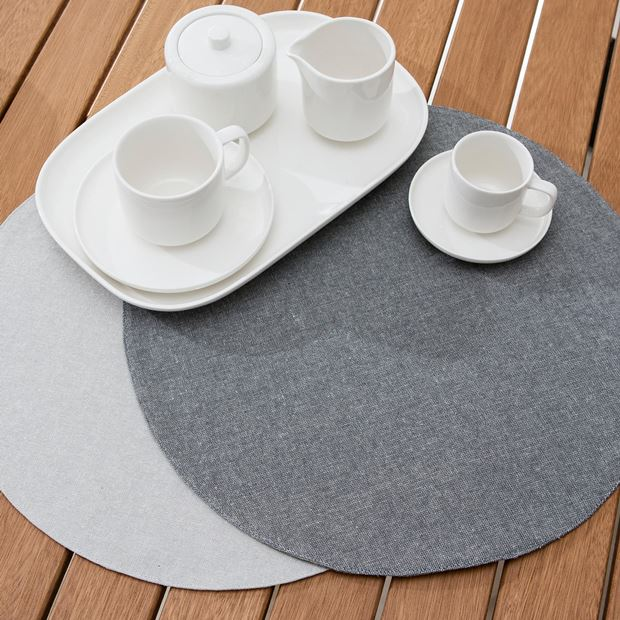 WATERPROOF Set de table gris Ø 38 cm_waterproof-set-de-table-gris-ø-38-cm