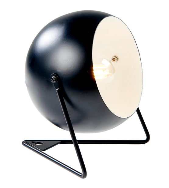 BOWL Lampe de table noir H 16,5 x Larg. 17 x P 17 cm_bowl-lampe-de-table-noir-h-16,5-x-larg--17-x-p-17-cm