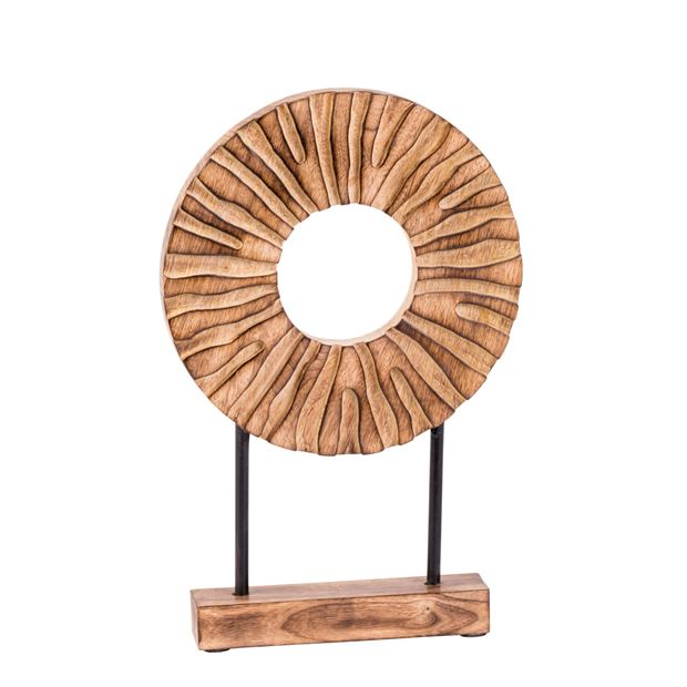 RADIUS Décoration naturel H 37 x Larg. 25 x P 5 cm_radius-décoration-naturel-h-37-x-larg--25-x-p-5-cm