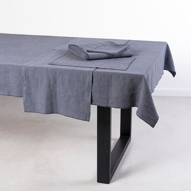 LUXALIN Set de table gris foncé Larg. 30 x Long. 45 cm_luxalin-set-de-table-gris-foncé-larg--30-x-long--45-cm