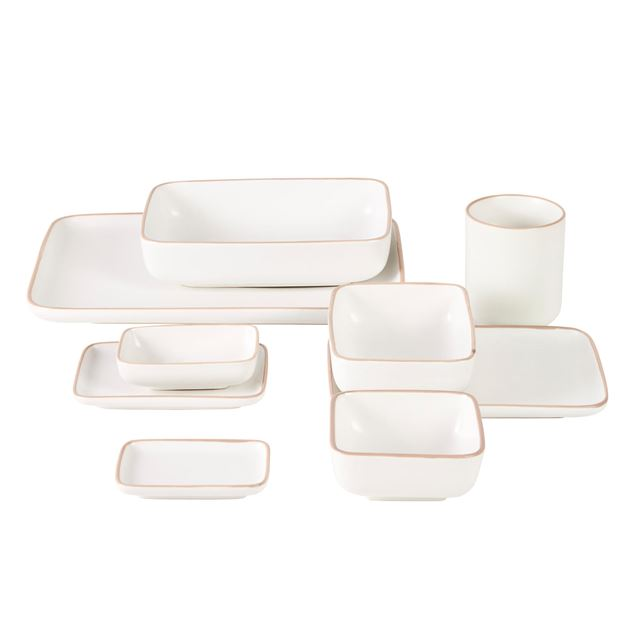ELEMENTS Assiette blanc Larg. 7 x Long. 10 cm_elements-assiette-blanc-larg--7-x-long--10-cm