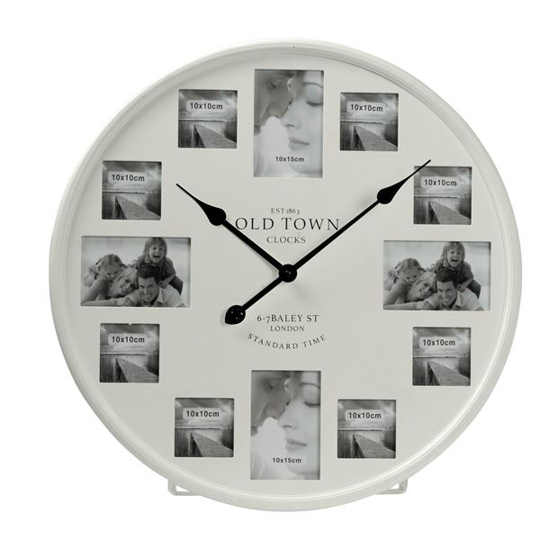 photo horloge blanc 60 cm sp cialiste depuis 40 ans. Black Bedroom Furniture Sets. Home Design Ideas