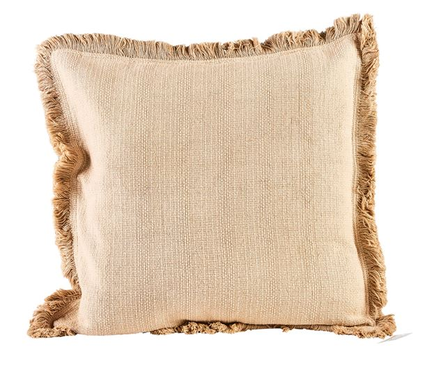 FROW Coussin brun clair Larg. 45 x Long. 45 cm_frow-coussin-brun-clair-larg--45-x-long--45-cm