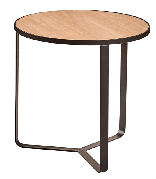 HARRISON Table d'appoint noir H 40 cm; Ø 40 cm_harrison-table-d'appoint-noir-h-40-cm;-ø-40-cm
