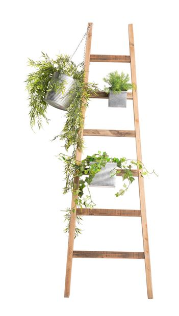 RECYCLE Ladder naturel H 150 cm_recycle-ladder-naturel-h-150-cm