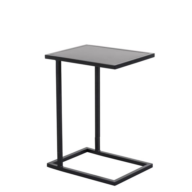 DILON Table d'appoint noir H 59 x Larg. 33 x Long. 43 cm_dilon-table-d'appoint-noir-h-59-x-larg--33-x-long--43-cm