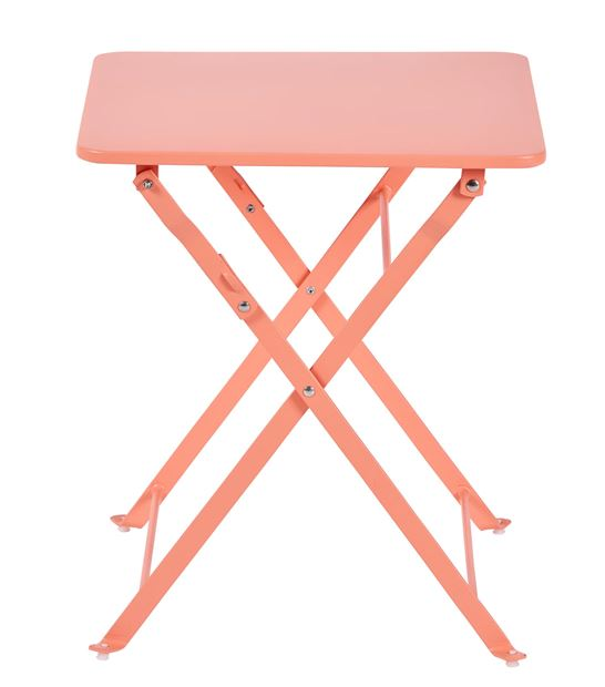 ANABEL Table pliante pour enfants rose H 45 x Larg. 40 x Long. 40 cm_anabel-table-pliante-pour-enfants-rose-h-45-x-larg--40-x-long--40-cm