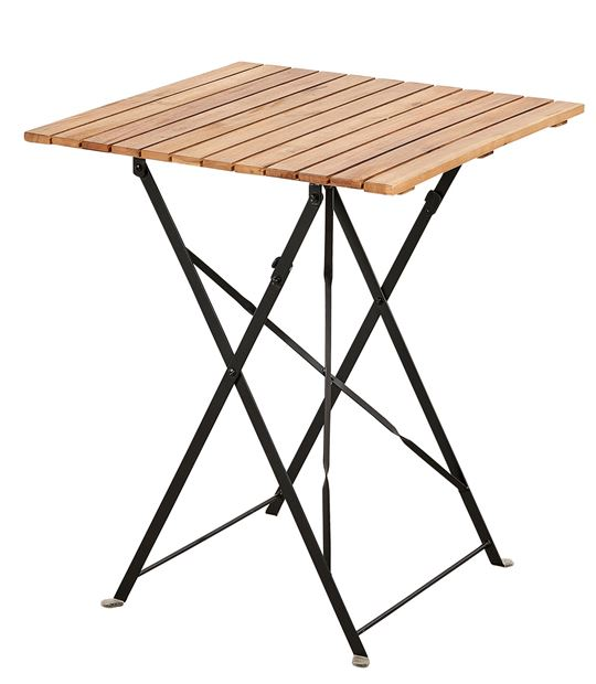 KAPAS Table pliante naturel H 73 x Long. 60 x P 60 cm_kapas-table-pliante-naturel-h-73-x-long--60-x-p-60-cm