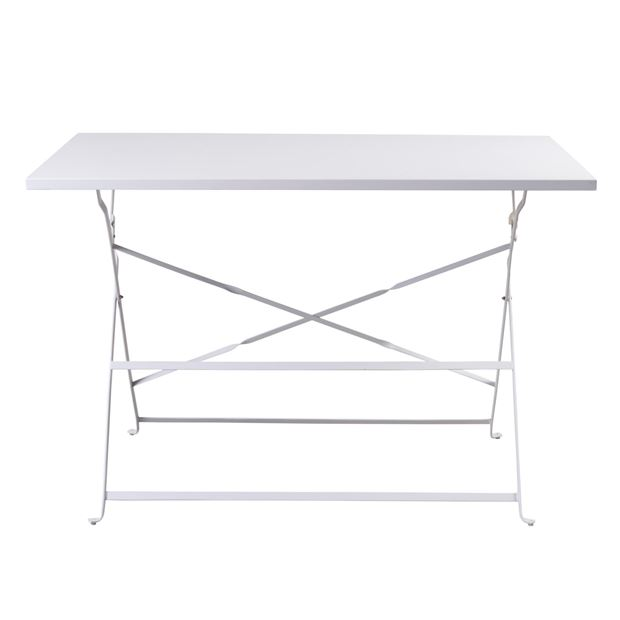 IMPERIAL Table pliante blanc H 71 x Long. 110 cm_imperial-table-pliante-blanc-h-71-x-long--110-cm
