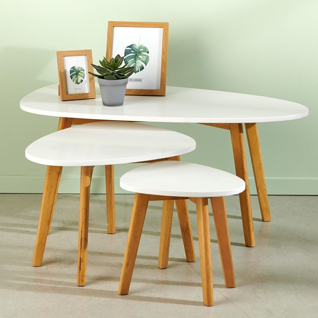 LINNEA Tables d'appoint set de 3 blanc_linnea-tables-d'appoint-set-de-3-blanc