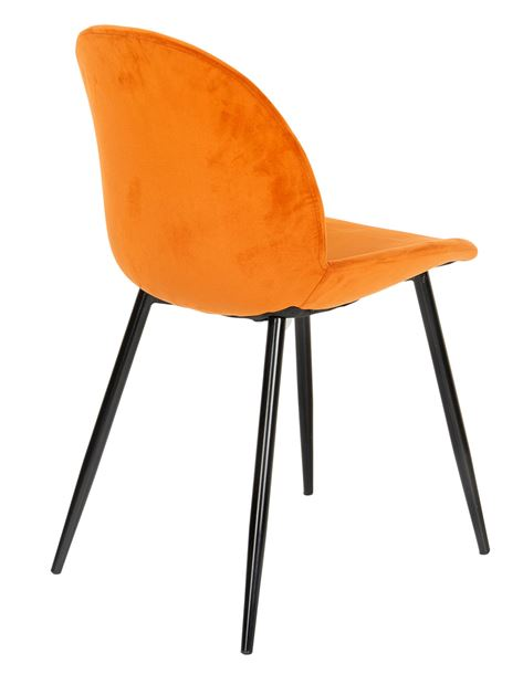FREYO Chaise orange H 82 x Larg. 50 x P 53 cm_freyo-chaise-orange-h-82-x-larg--50-x-p-53-cm