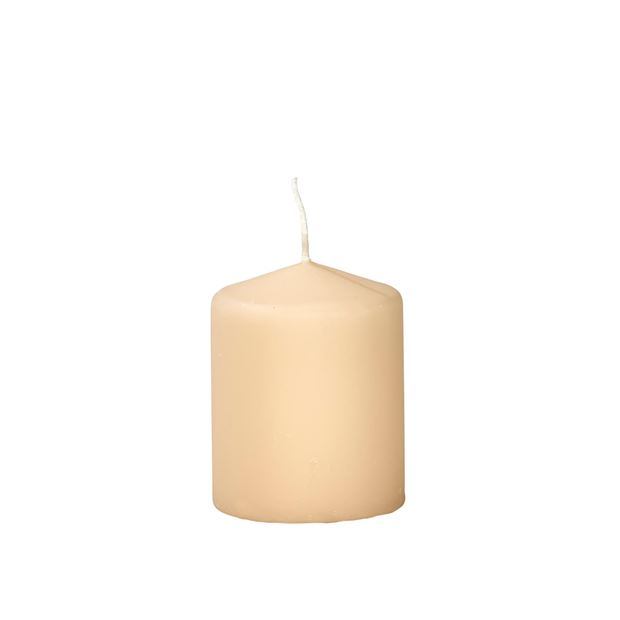 CILINDRO Candela beige H 10 cm; Ø 8 cm_cilindro-candela-beige-h-10-cm;-ø-8-cm