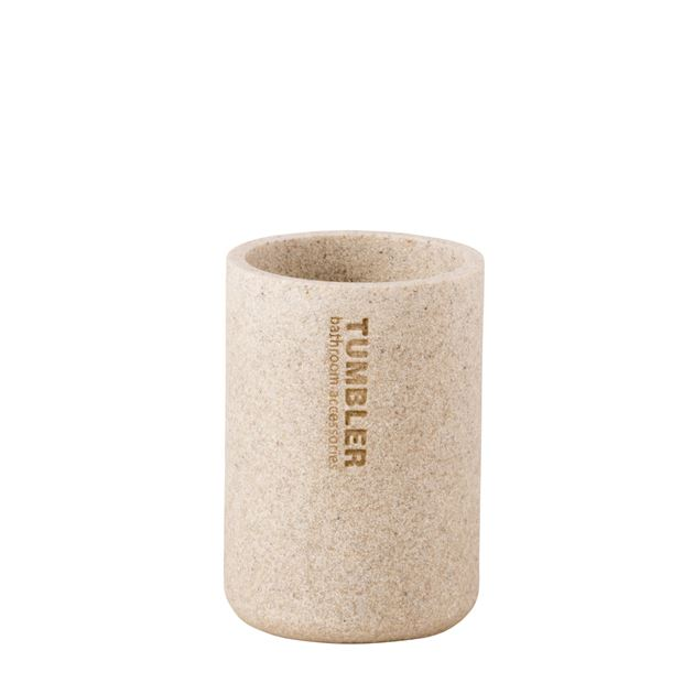 NEW RESIN Becher Naturell H 11,5 cm; Ø 7,9 cm_new-resin-becher-naturell-h-11,5-cm;-ø-7,9-cm