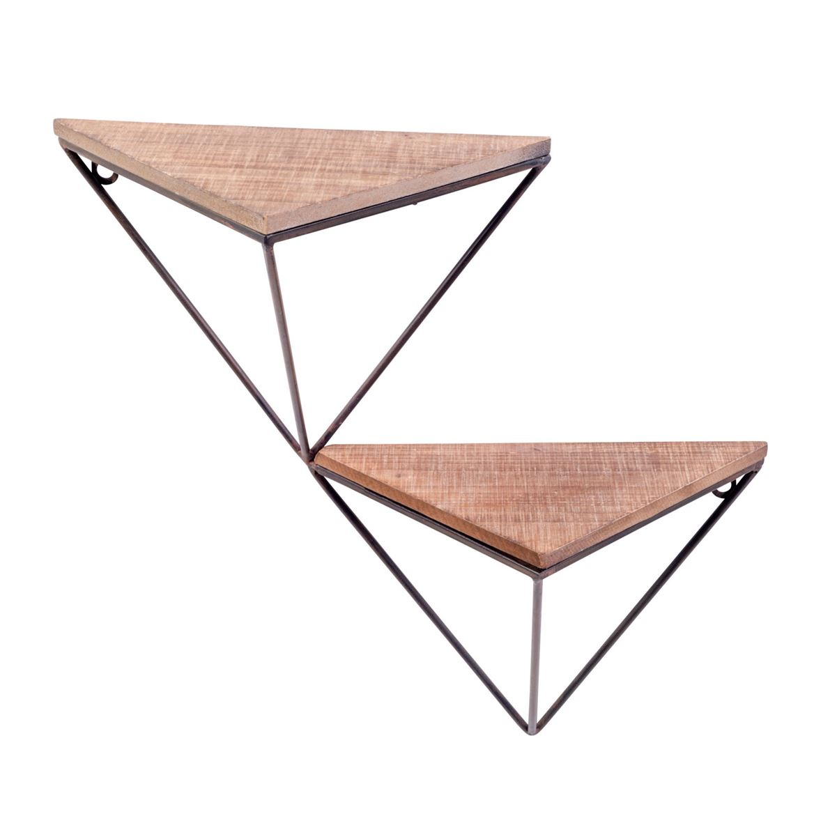 Triangle tag re murale produits feelgood pour la maison - Etagere table de nuit ...