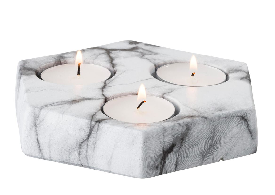MARBLE Support bougie chauffe-plat gris H 13,3 x Larg. 15 x P 2,8 cm_marble-support-bougie-chauffe-plat-gris-h-13,3-x-larg--15-x-p-2,8-cm