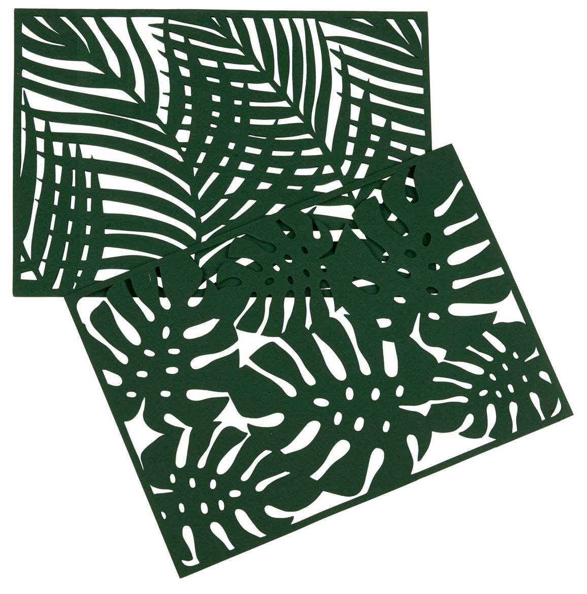 JUNGLE Placemat groen B 32 x L 45 cm_jungle-placemat-groen-b-32-x-l-45-cm