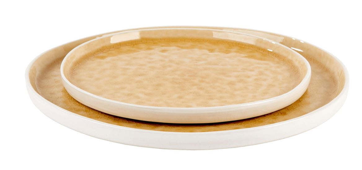 NUVOLE CURRY Assiette jaune Ø 26,5 cm_nuvole-curry-assiette-jaune-ø-26,5-cm