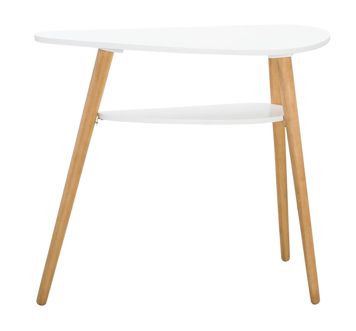 Surf Table Murale Blanc Naturel H 80 X Larg 35 X Long 95 Cm