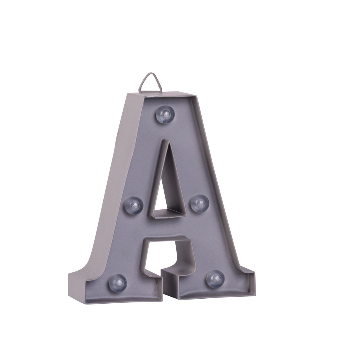 LED Letter A metaal H 10 cm_led-letter-a-metaal-h-10-cm