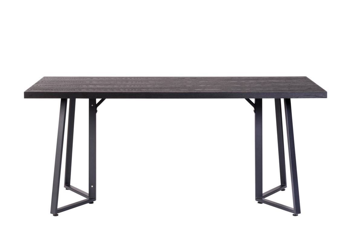 CHAMONIX Table noir H 76 x Larg. 90 x Long. 180 cm_chamonix-table-noir-h-76-x-larg--90-x-long--180-cm