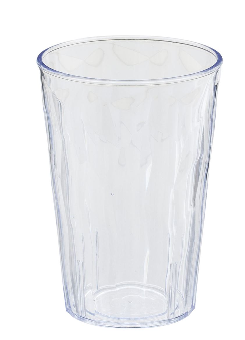 ICE Verre transparent H 10 cm; Ø 8.5 cm_ice-verre-transparent-h-10-cm;-ø-8-5-cm