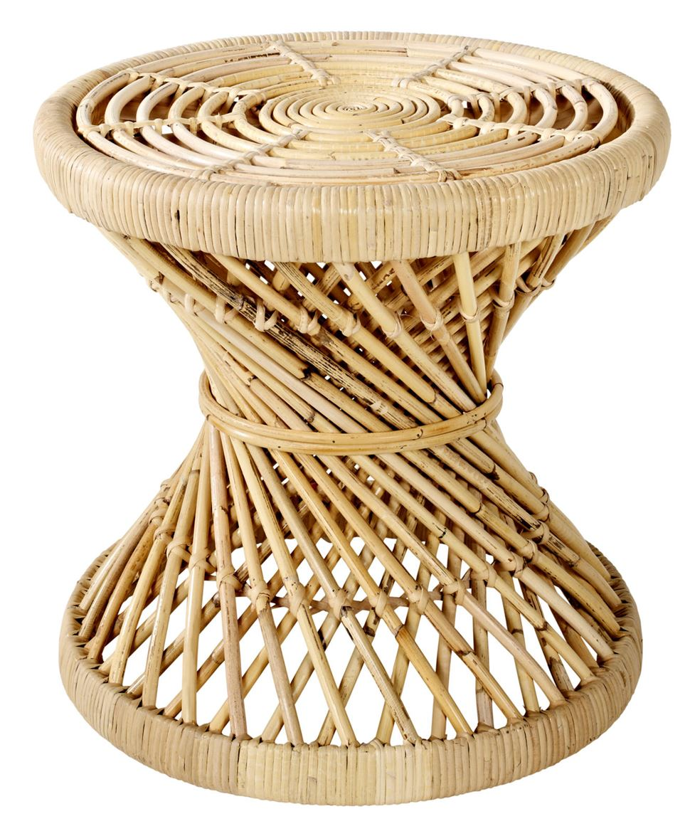 TWIST Tabouret naturel H 42 cm; Ø 43 cm_twist-tabouret-naturel-h-42-cm;-ø-43-cm