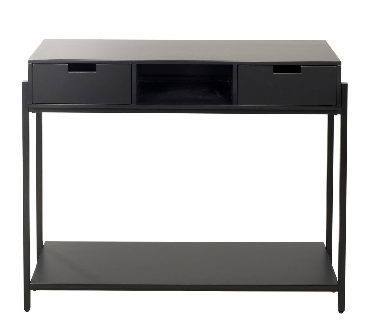 MATEO Table murale noir H 80 x Larg. 32 x Long. 100 cm_mateo-table-murale-noir-h-80-x-larg--32-x-long--100-cm