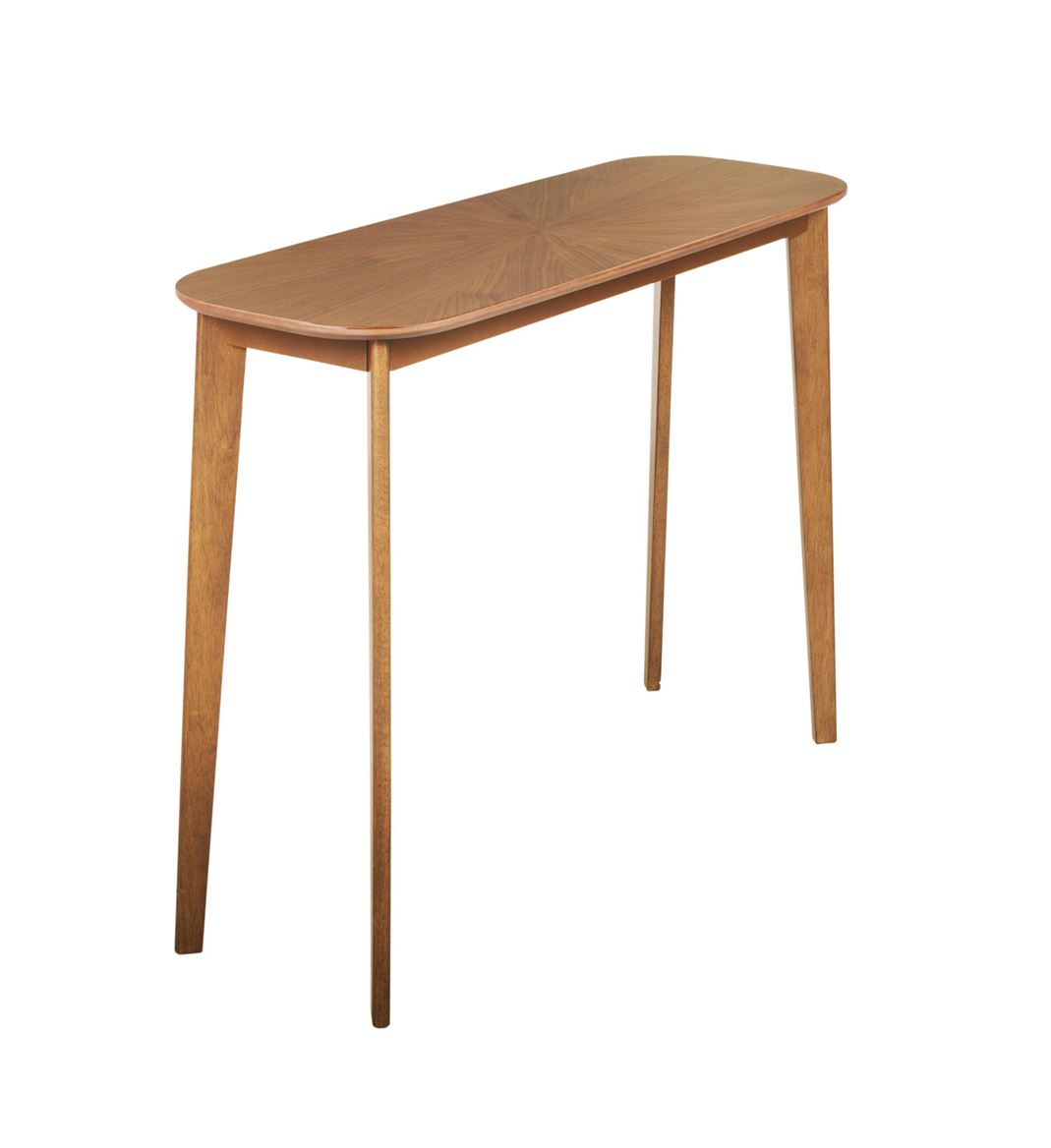 Rai Table Murale Naturel H 75 X Larg 35 X Long 100 Cm