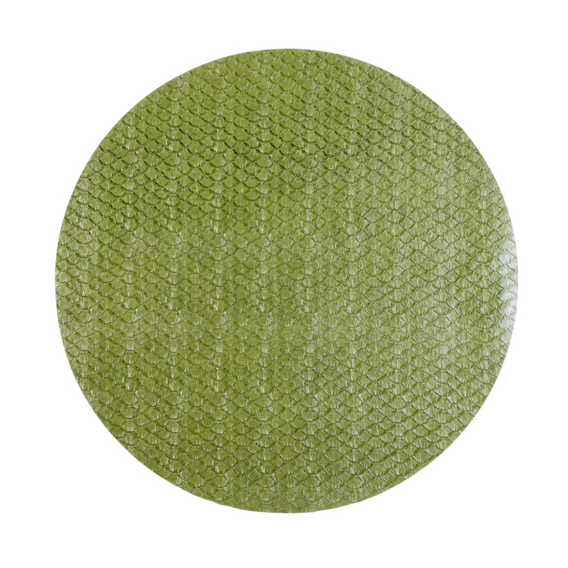 SNAKE SKIN Set de table vert Ø 38 cm_snake-skin-set-de-table-vert-ø-38-cm