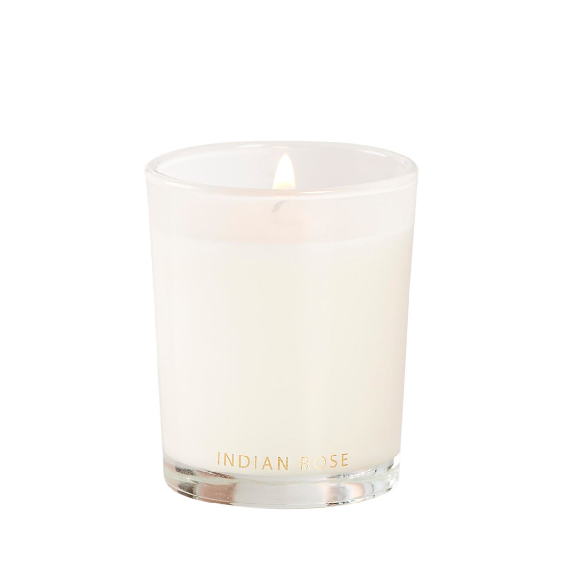 INDIAN ROSE Vela perfumada en vaso blanco A 6.5 cm; Ø 5.5 cm_indian-rose-vela-perfumada-en-vaso-blanco-a-6-5-cm;-ø-5-5-cm