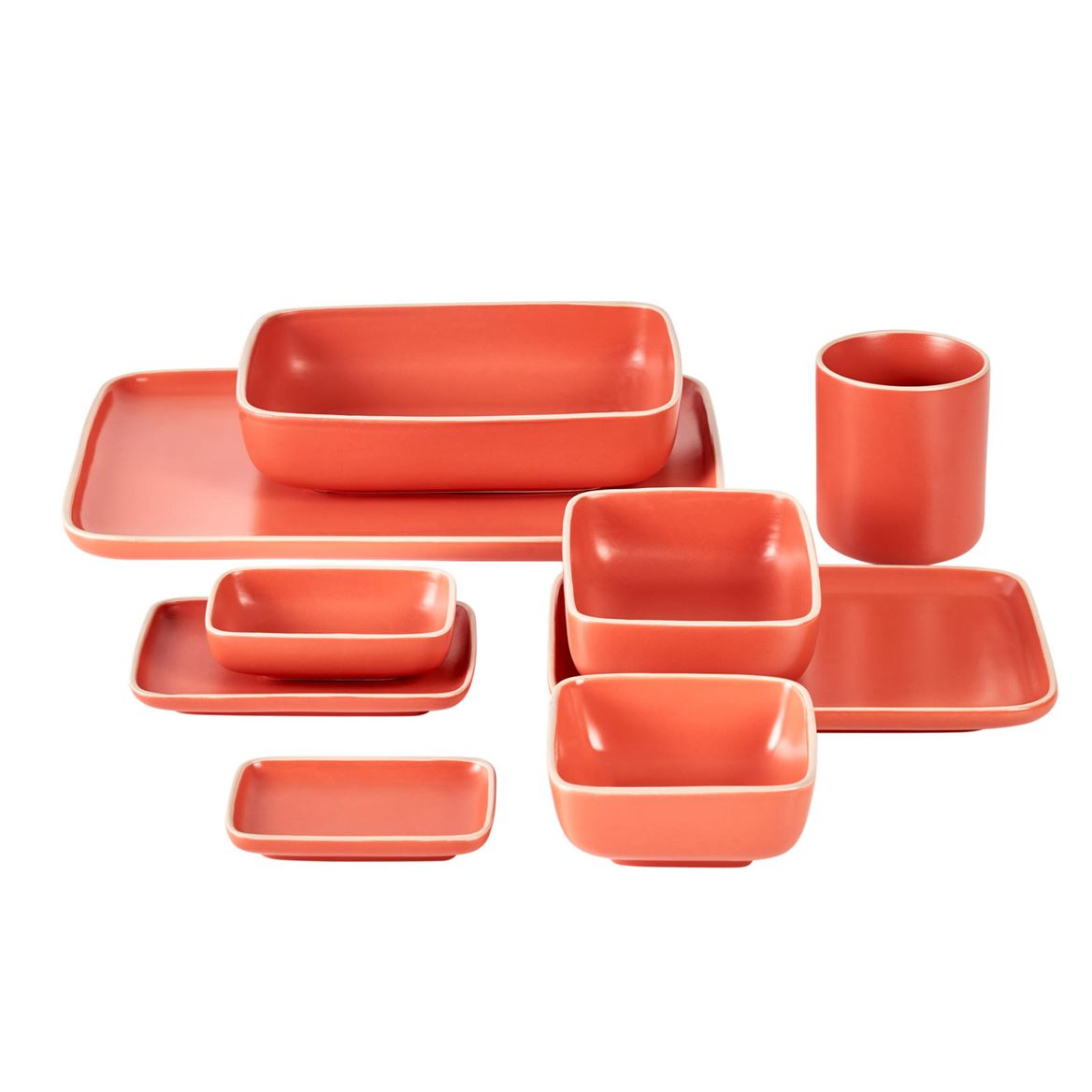 ELEMENTS Assiette orange Larg. 10 x Long. 14,2 cm_elements-assiette-orange-larg--10-x-long--14,2-cm