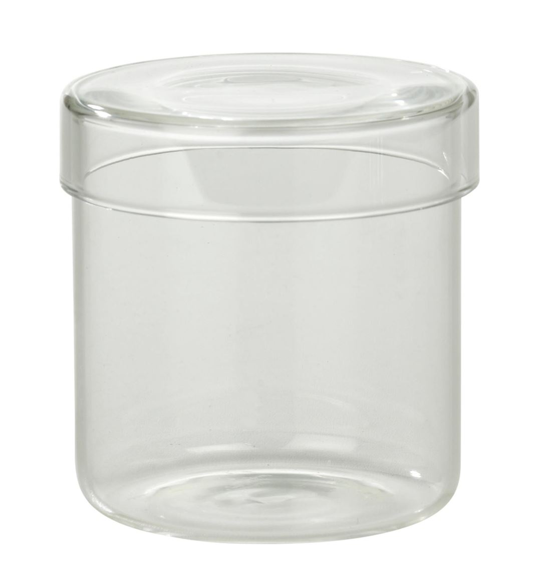 PURI Pot décoratif transparent H 8 cm; Ø 8 cm_puri-pot-décoratif-transparent-h-8-cm;-ø-8-cm