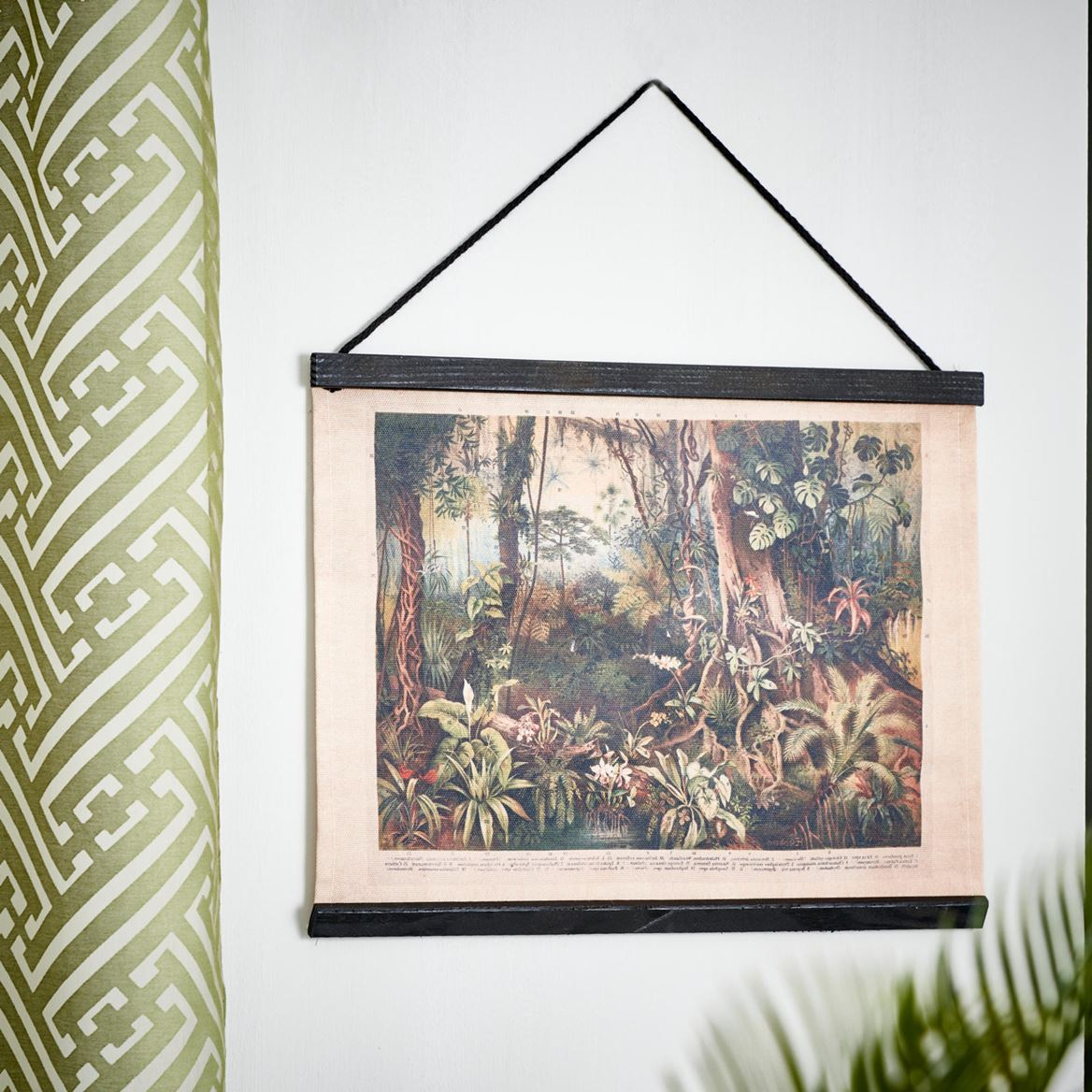 JUNGLE Decoración de pared negro, verde A 30 x An. 40 cm_jungle-decoración-de-pared-negro,-verde-a-30-x-an--40-cm