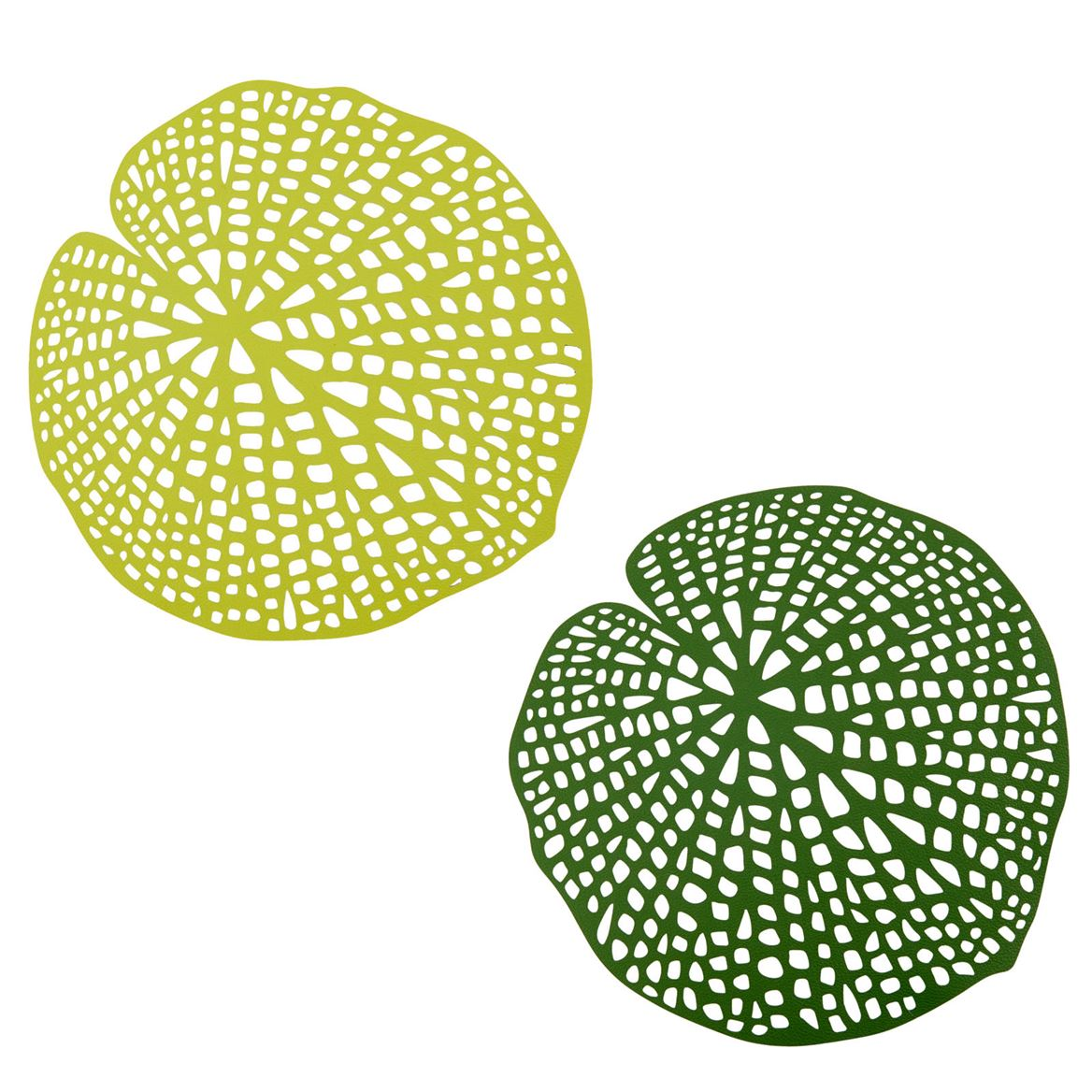 WATER LILY Placemat groen B 38 x L 38 cm_water-lily-placemat-groen-b-38-x-l-38-cm