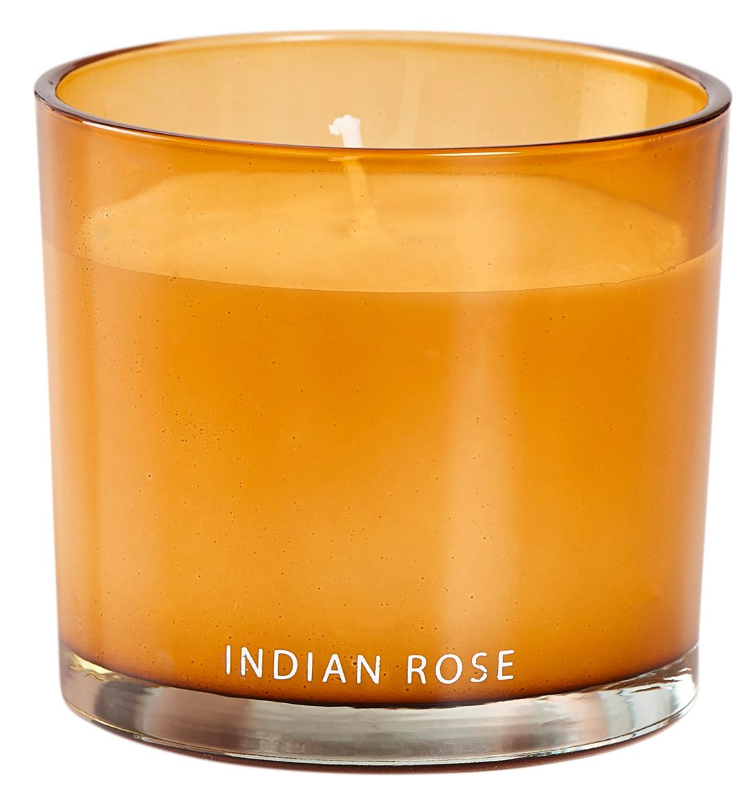 INDIAN ROSE Geurkaars in glas H 7,5 cm; Ø 8 cm_indian-rose-geurkaars-in-glas-h-7,5-cm;-ø-8-cm