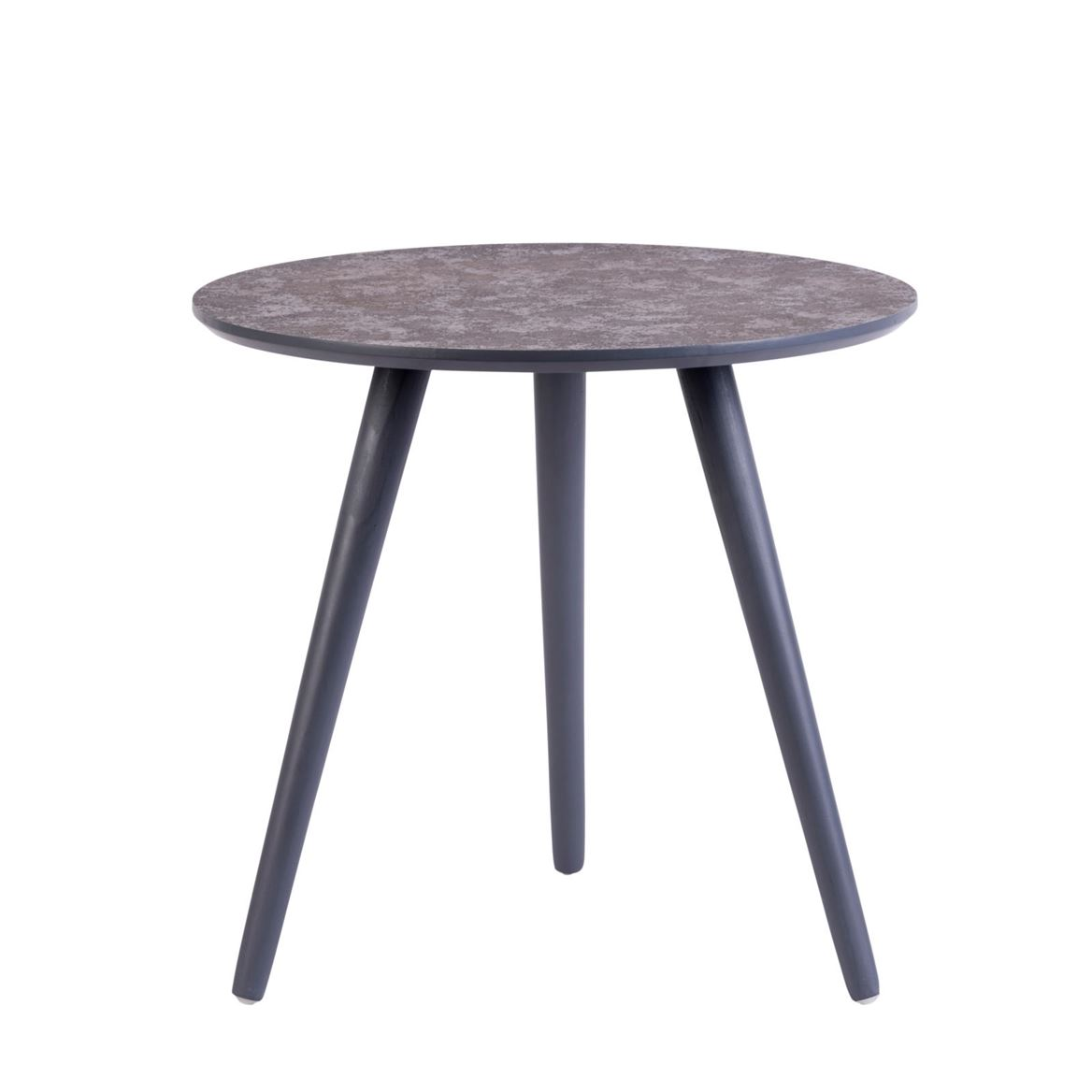 CRATER Table d'appoint gris H 47 cm; Ø 50 cm_crater-table-d'appoint-gris-h-47-cm;-ø-50-cm