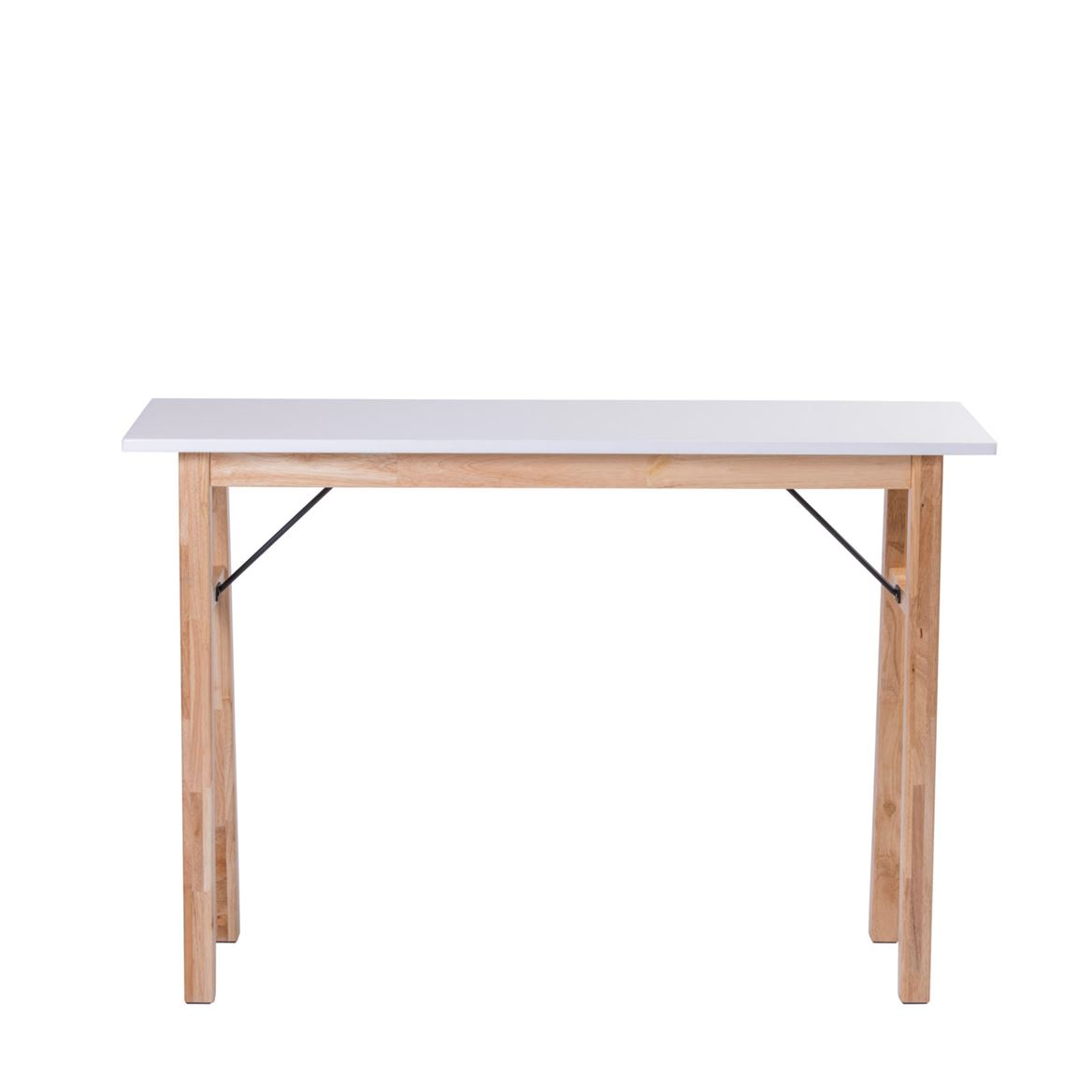 Bianca Table Murale Blanc H 75 X Larg 35 X Long 110 Cm